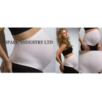 China Seamless Pregnancy Maternity Belly Bands , Nylon Spandex Maternity Corset Belt wholesale