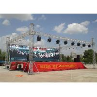China Square Lighting Aluminum Spigot Truss 30*2 Mm Vice Tube For Sound System wholesale