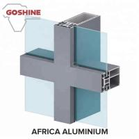 China windows and doors wall aluminium extrusion profiles accessories for West Africa on sale