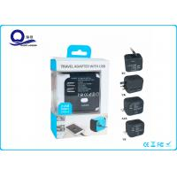 China Universal AC USB Power Charger Adapter With 5V 2.4A Dual USB Port wholesale