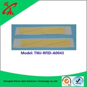 Buy cheap UHF RFID sticker  860-960MHZ Customized rfid nfc tag / label / sticker product