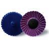 "China 3"" Mini Flap Disc 240 Grit , Metal Wood Polishing Flapper Wheels For Pencil Grinder wholesale"