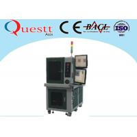 Buy cheap 3 / 8 / 15W Automatic Laser Marking Machine Stability With Sealed Optical System from wholesalers