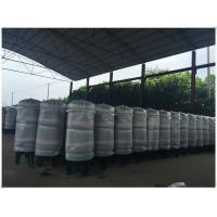 Quality Carbon Steel Verticial Underground Oil Storage Tanks High Pressure Vessel for sale