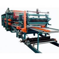 China Double Belt PU Sandwich Panel Making Machine Automatic For Roof Wall Panel wholesale