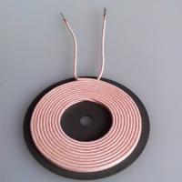 China 6.5uh Inductance Wireless Charging Coil Without Ferrite , 20.5 Inner Dia Size wholesale