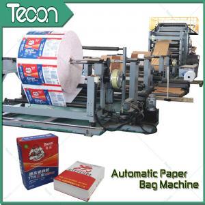 Quality 50KG Kraft Sack Making Machine , Paper Bag Production Line For Cement Bag for sale