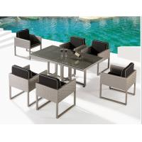 China Outdoor furniture rattan poolside dinning set--16029 wholesale