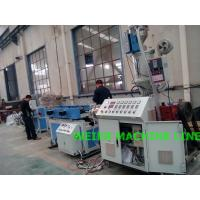 China PA nylon Double Wall Corrugated Pipe Machine With High Speed , 380V on sale