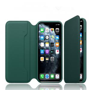 China Flip Leather Iphone  11 Pro 5.4 Inches Magnetic Phone Case wholesale