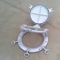 China Round Shape Marine Windows Weathertight Openable Portlights With Storm Cover wholesale