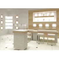 China Easy Install Modern Jewelry Display Cases Custom Logo For Retail Shop wholesale