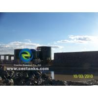 China Gfs Fire Water Tank Can Resist Of Harsh Environment , Bolted Steel Water Storage Tanks on sale