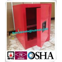 Quality Flame Proof 4 Gallon Paint Storage Cabinets For Corrosive Combustible Liquid for sale