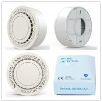 China DC3V battery operated Smoke alarm with  EN14604 for hotel,kitchen,meeting room, office,school on sale