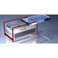 China Customized Crystal Acrylic Storage Boxes , Perspex Jewelry Display Box wholesale