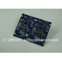 China Blue Soldering Impedance Controlled PCB Multilayer FR4 for Controller wholesale