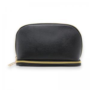 China Customized Black Saffiano PU Storage Bags For Traveler wholesale