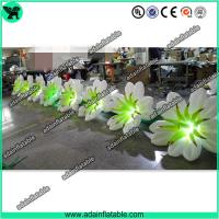 China 10m Inflatable Flower Chain With LED Light wholesale