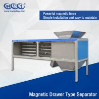 China Energy Saving Powder Magnetic Separator Machine With Vibrator 380VAC Input wholesale