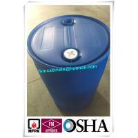 Quality ISO Drum Storage Cabinets Blue Plastic Drum , Acid Storage HDPE Plastic Barrel Drum for sale
