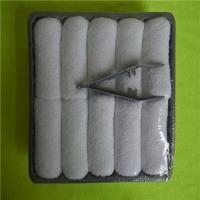 China 100% Cotton plain white terry towel airline towel wholesale