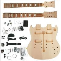China Polished Body DIY Electric Guitar Kits wholesale
