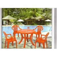 China plastic dining set wholesale