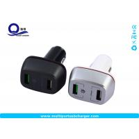 China 27W qualcomm quick charge 3.0 samsung car charger Dual small usb for Samsung galaxy s8 s7 wholesale