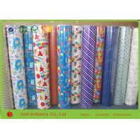 China Multi Color Roll Wrapping Paper 70cm X 300cm Gravure Printing For Present Package wholesale