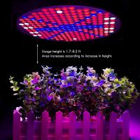 China 50W UFO Hydroponics LED Grow Light Bulb For Indoor Plants , 120 Degree Angle wholesale