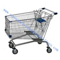 China 150L Retail Shopping Trolleys / grocery shopping trolley With Baby Seat wholesale