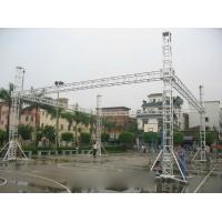 China Advertising Performance Stage Aluminum Truss Spigot Square Recycled Long Span on sale