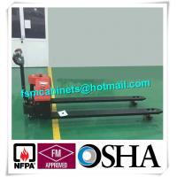 Quality Manual jack hand hydraulic pallet truck trolley , Drum storage cabinet used for sale