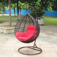 China Indoor Furniture hanging swing chair /rattan swing chair wholesale
