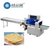 China Manufacturer automatic high speed flow Brioche sandwich French pita Croissant sliced arabic bread packing machinery price wholesale