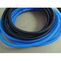 Buy cheap Blue Color Flexible Flexible Corrugated Pipe for Cable Protection For Sale from wholesalers