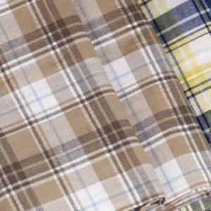 China 100% Cotton Yarn-dyed Fabric, Plain Style, Silver Filament Yarn wholesale