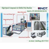 Buy cheap Vinot Suppliers Bubble Cell Film Making Machine  Custom Made  With Different Standard Model No. DY-1200 from wholesalers
