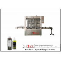 China Automatic Bottle & Liquid Filling Machine For Liquid Products With 8, 10, 12, 14 or 20 Filling Nozzles. wholesale