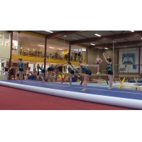 Buy cheap OEM 0.9mm PVC Gymnastics Tumbling Inflatable Air Track Mats from wholesalers