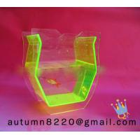 China Clear acrylic fish bowls wholesale