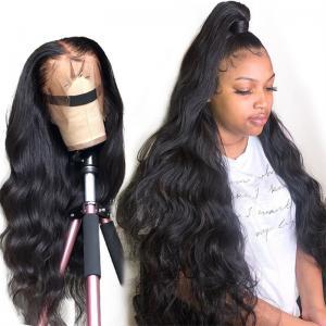 China Smooth Virgin Brazilian Remy Full Lace Human Hair Wigs 1B/99J wholesale