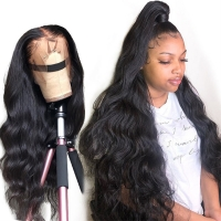Buy cheap Smooth Virgin Brazilian Remy Full Lace Human Hair Wigs 1B/99J from wholesalers