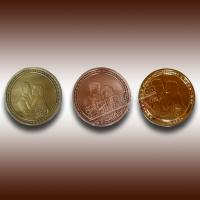 Buy cheap wedding anniversary gold,silver,copper commemorative coin from wholesalers