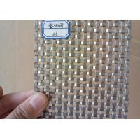 China High Strength Flat Wire Mesh Specializing In Production / Metal Wall wholesale