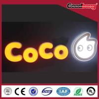 China Customized Outdoor large LED channel letter material sign for company logo on sale