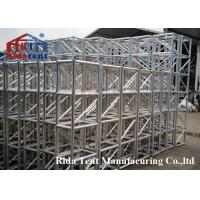 China Luxurious Mini Rigging Truss , Pedestals Heavy Stage Truss Wear Resistant wholesale