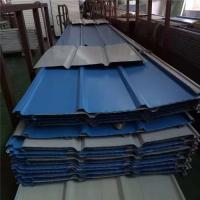 China 0.6mm blue color An steel 1050mm corrugated roof sheets used for 30 years wholesale
