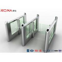 China Stainless Steel Fingerprints Turnstile Entrance Gates Simple Appearance High Speed wholesale